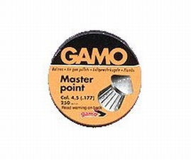Gamo 632063454 Flat Nose Pellets Master Point .177