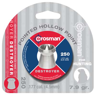 Crosman Destroyer .177 Point|Dished