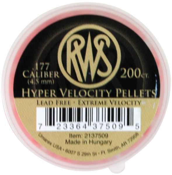 RWS Pellets .177 Hyper-VELOCITY 200|TIN