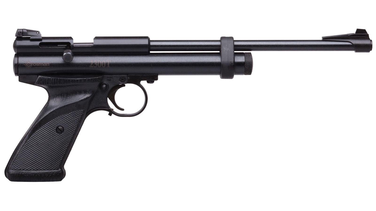 Crosman 2300T Target .177 Air Gun Pistol Black