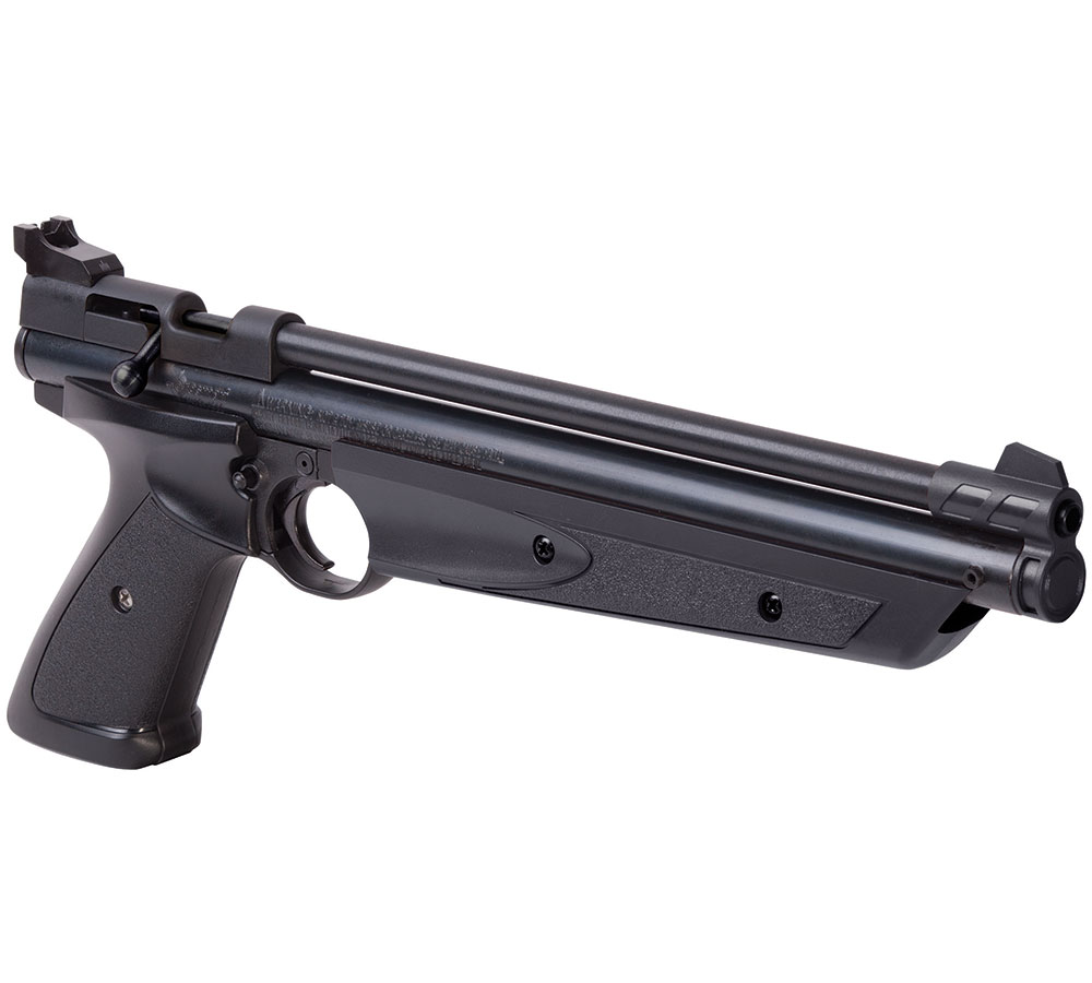 Crosman P1377 American Classic Air Pistol Break Open .177 Black