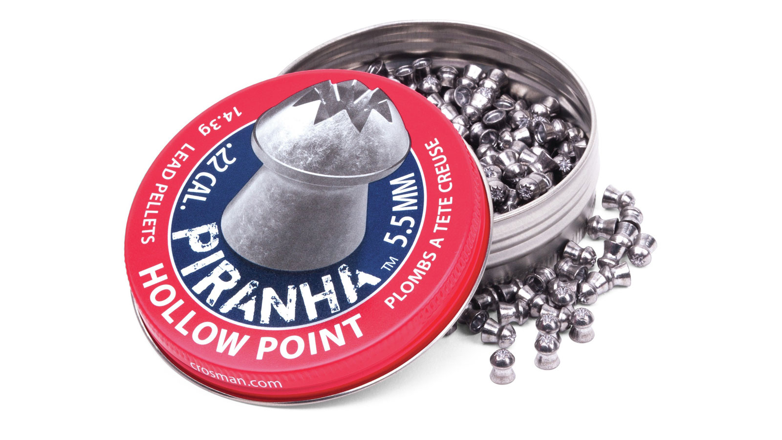 Crosman LPPH2 Premier .22 Piranha Hollowpoint