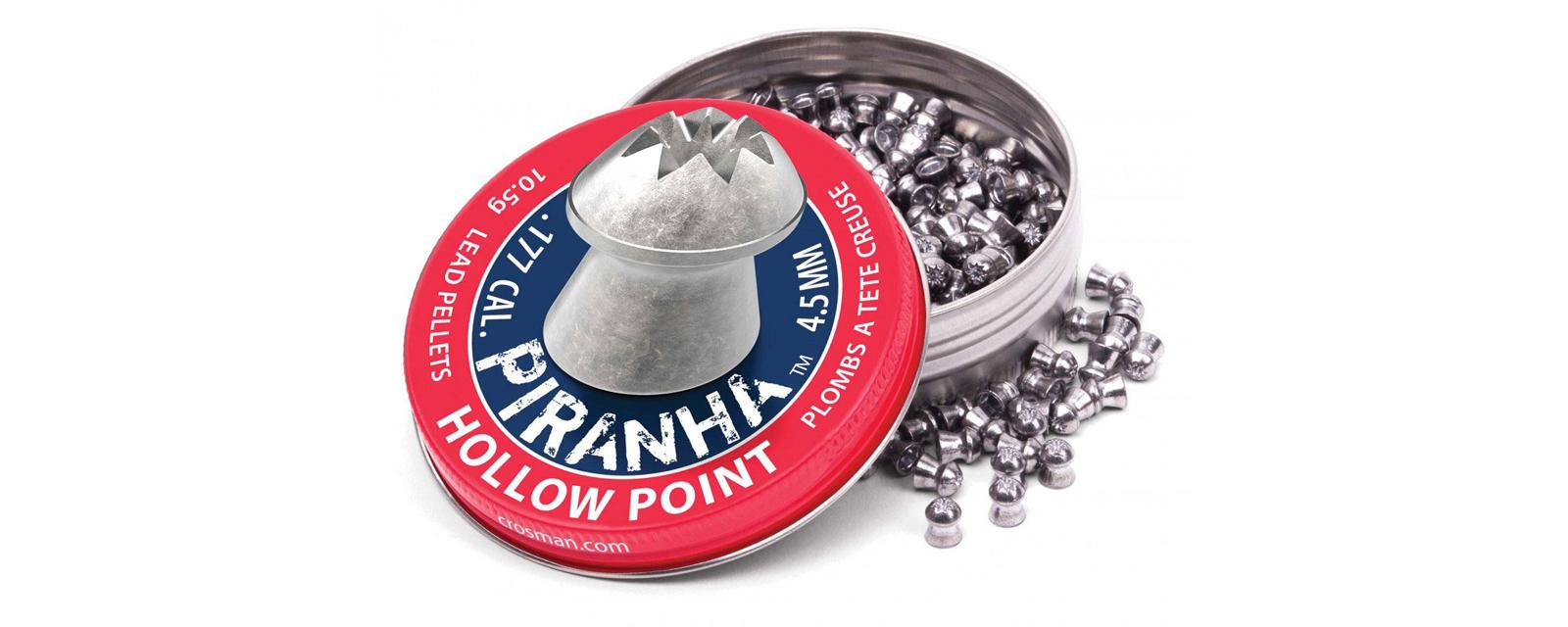 Crosman LPPH7 Premier .177 Piranha Hollowpoint