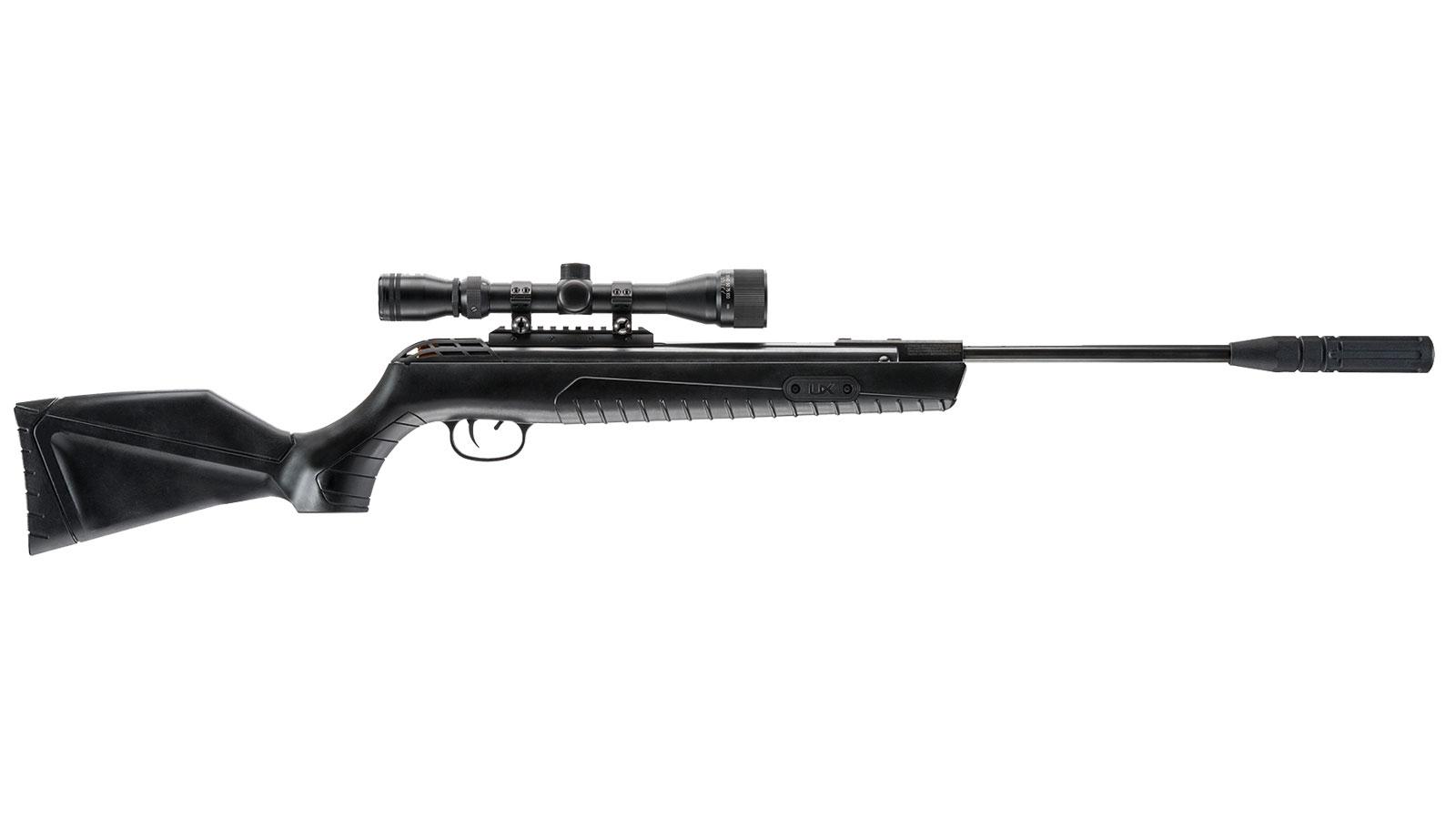 Umarex USA 2251341 Throttle Air Rifle Break Open .22 Black