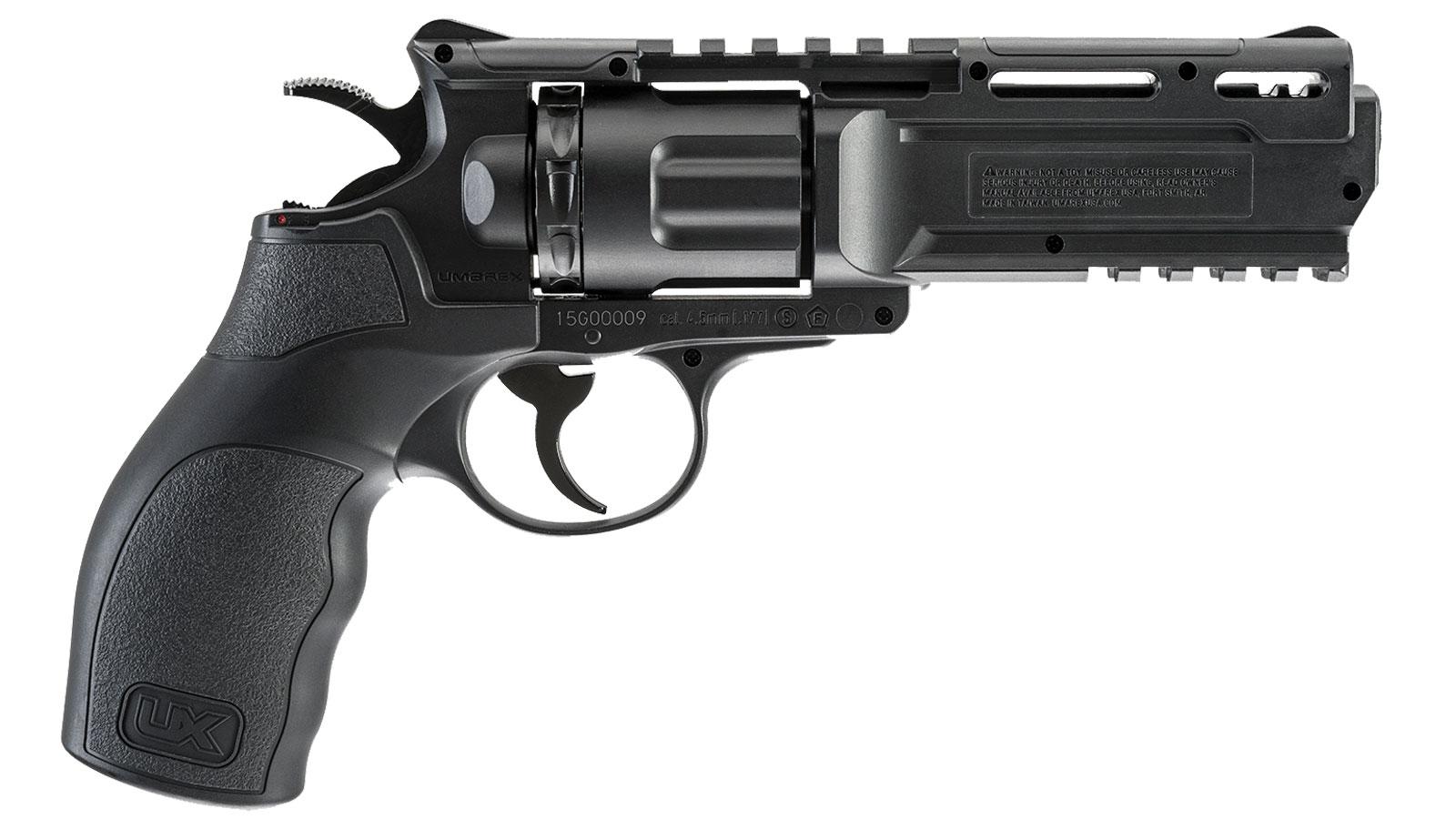 Umarex USA 2252109 Brodax Air Pistol Double .177 BB Black