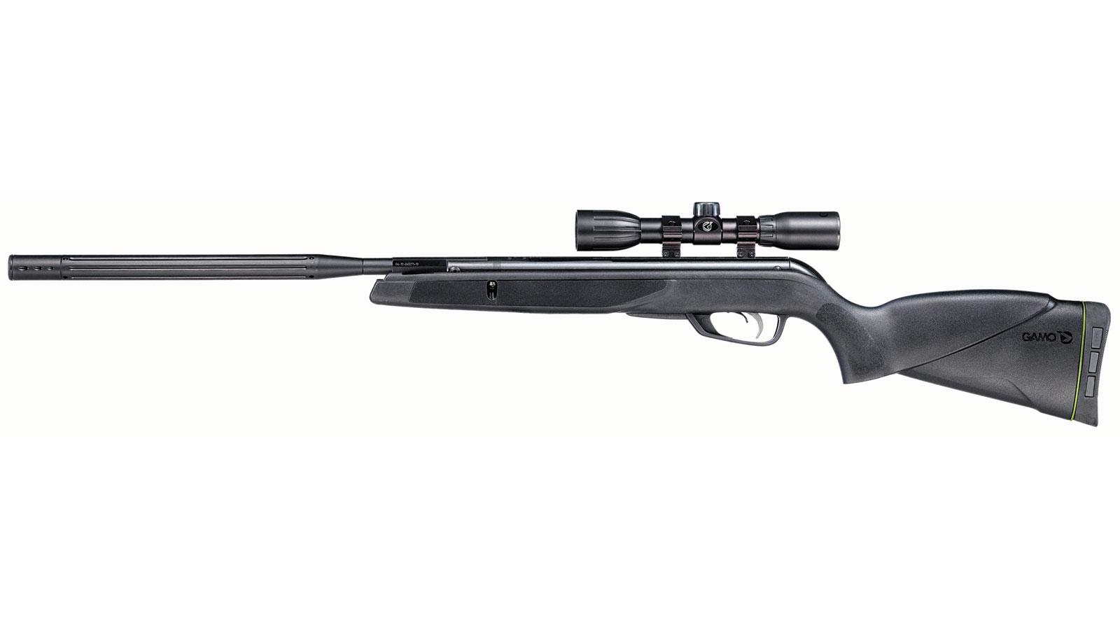 Gamo 611006795554 Raptor Whisper Air Rifle Break Open .22 Pellet Black
