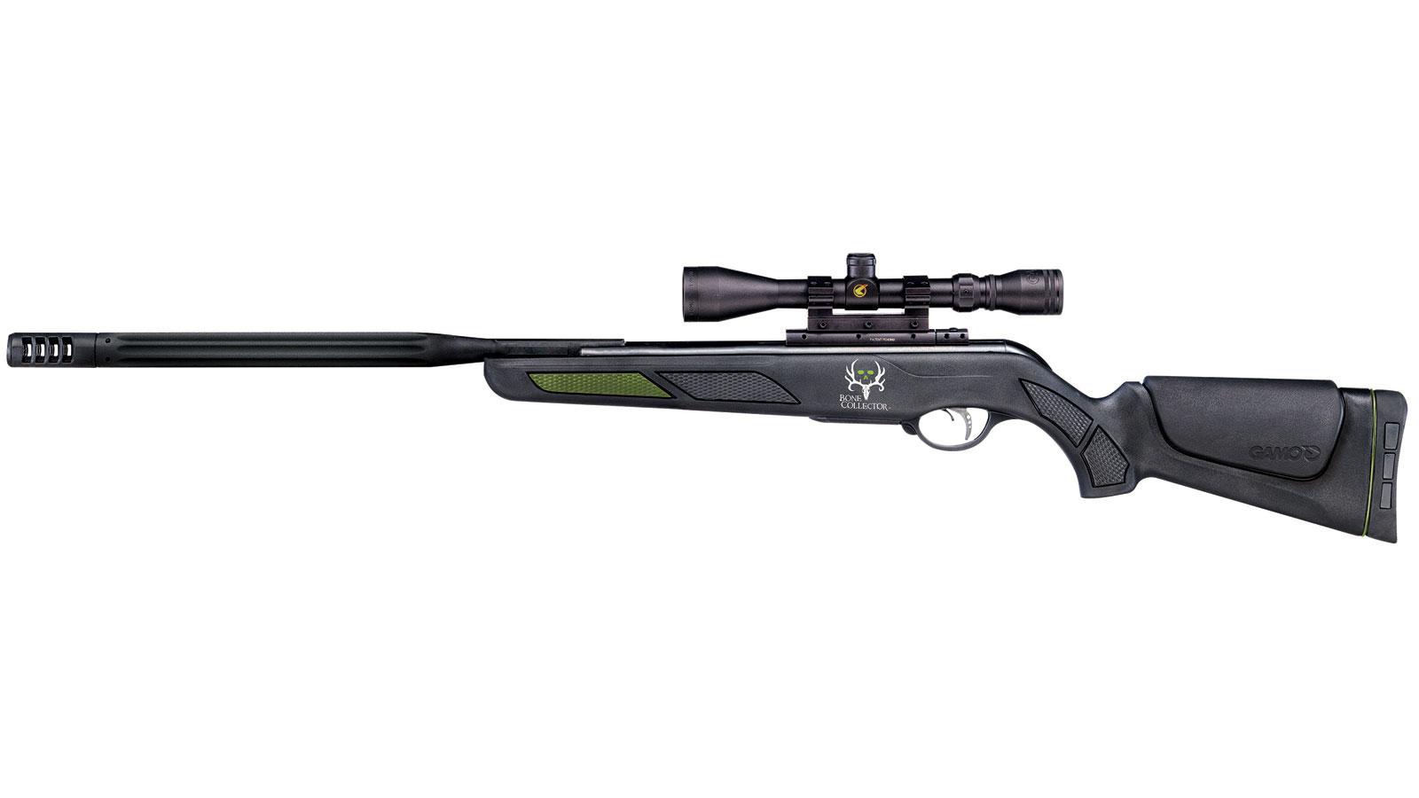 Gamo 61100625554 Bone Collector Maxxim Air Rifle Break Open .22 Pellet Black