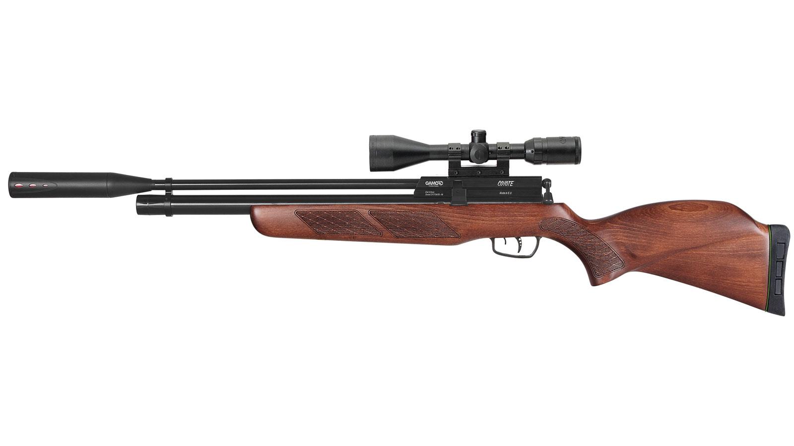 Gamo Coyote Whisper Fusion Multi-Shot Beechwood .22 Air 24.5-inch 10Rds