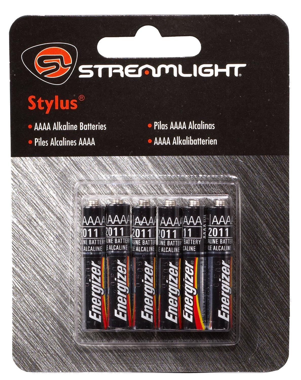 Streamlight Stylus AAAA Batteries 6-Pack