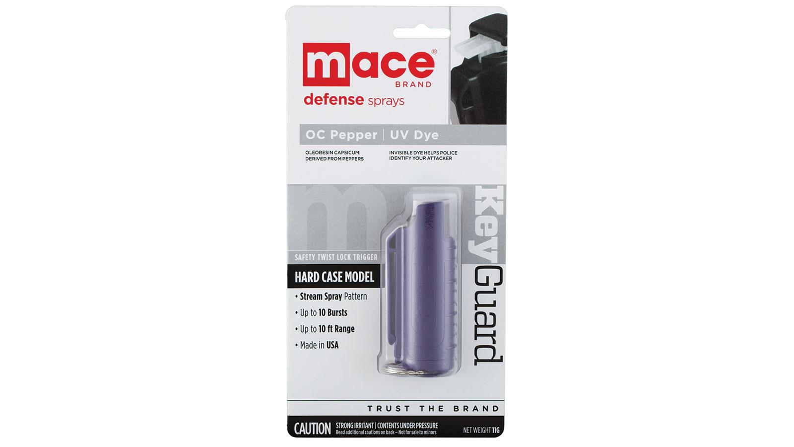 Mace Security 10% Pepper KeyCase 11gm Purple