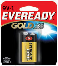 Energizer Eveready Gold ALK 9V