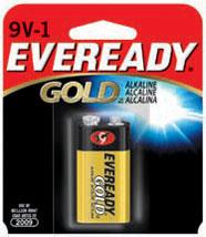 Energizer Eveready Gold ALK 9V
