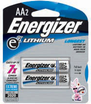 Energizer Lithium AA 2-pack