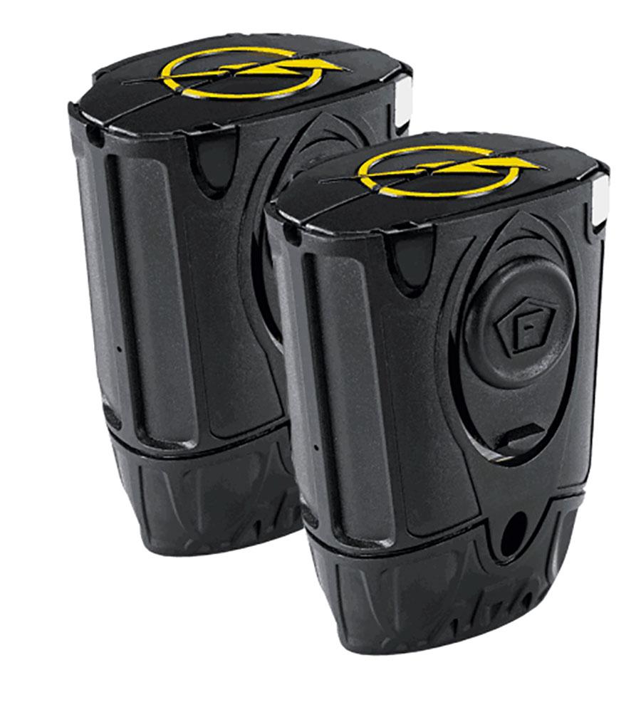 Taser 37215 Black Live Cartridges 2 Pack 1.32 oz 15 ft  Black