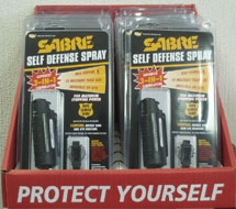 Sabre Advance 3 in 1 Pink Case Display