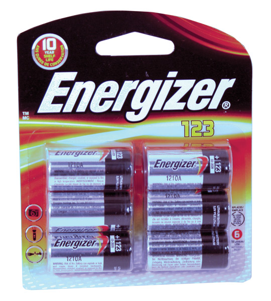 Energizer Lithium 3V 6-Pack