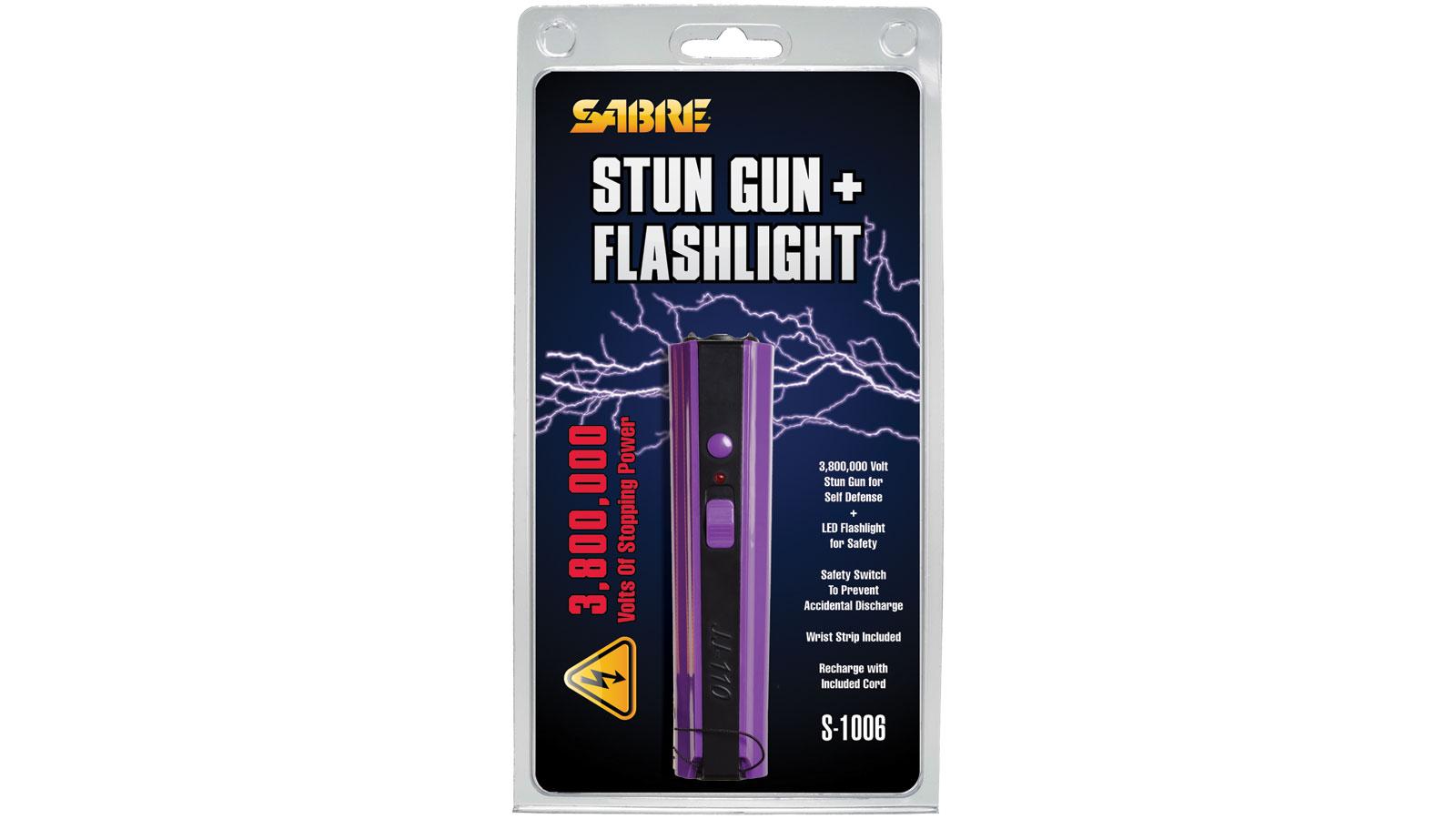 Sabre S-1006-PR Stun Gun - Purple