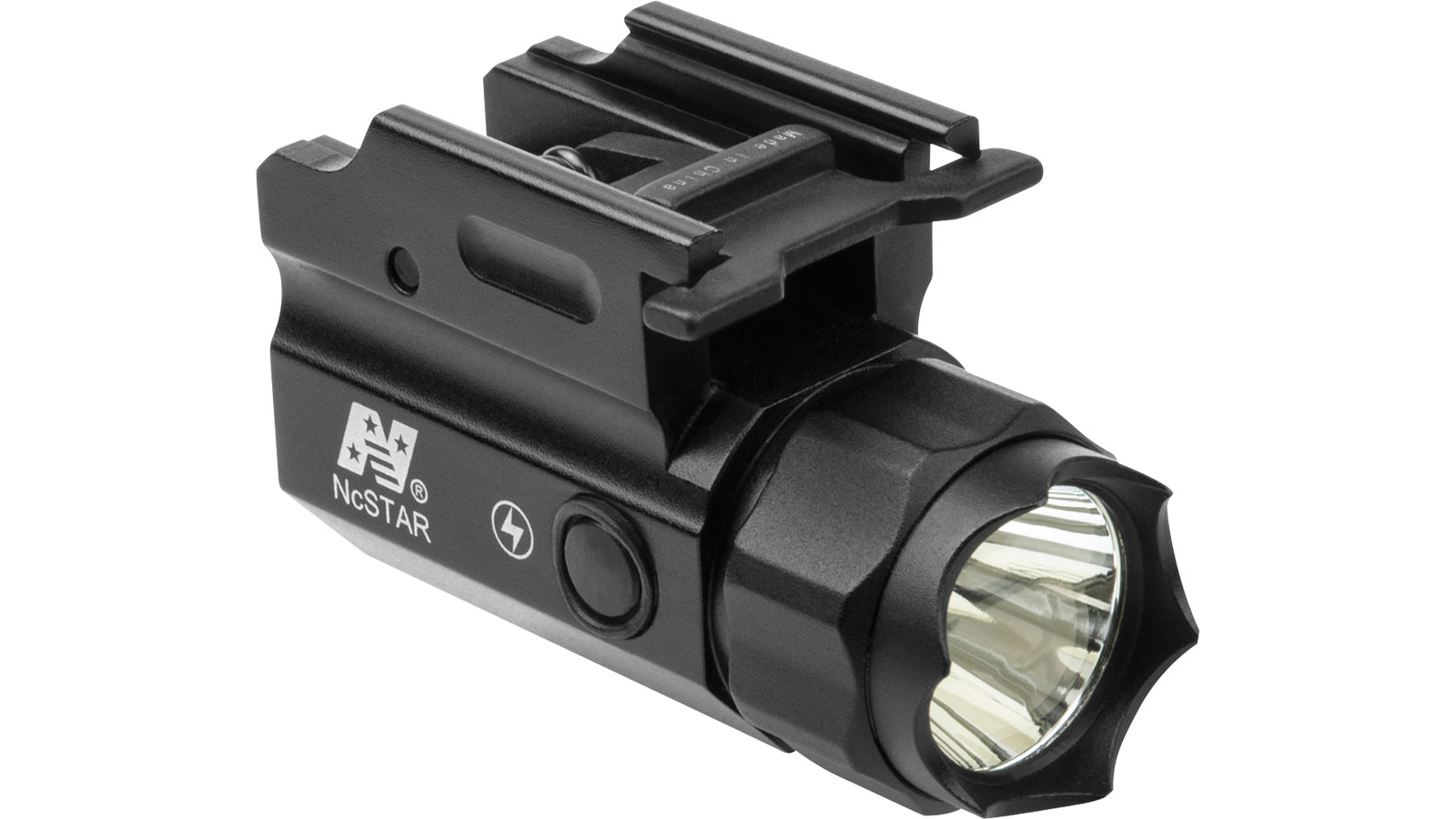 NCStar ACQPTF Compact Flashlight Compact Flashlight w/Strobe 3 Watt CREE LED