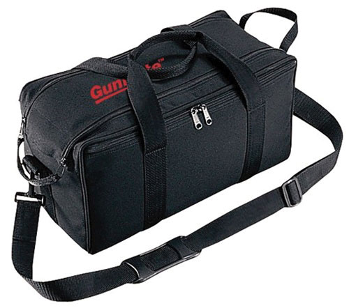 Uncle Mikes 22520 Gun Mate Range Transport Bag Nylon Black 16 x 8 in.  x 7 in.  in.