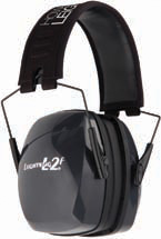 Howard Leight R01525 Leightning Passive Earmuffs 27 dB Black|Gray