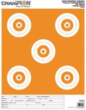 Champion Targets Shotkeep Target with O 5-BULL Large