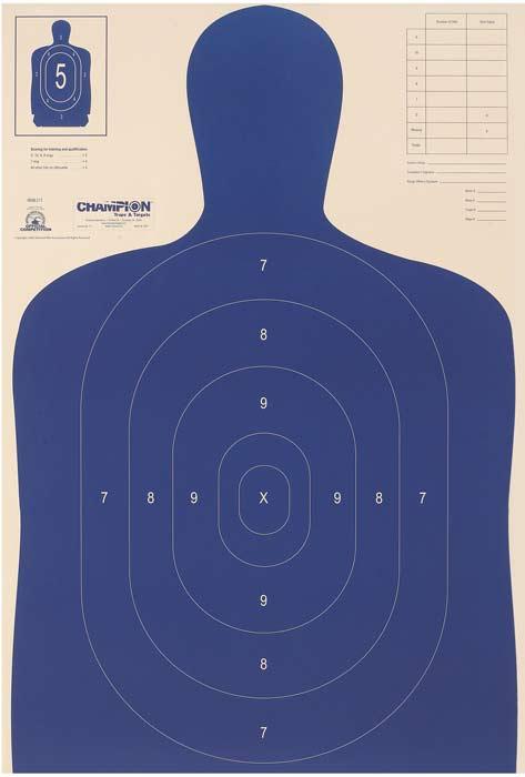 Champion Targets LE Paper Target B27-E