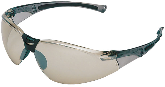 Howard Leight R01708 HL804 Shooting|Sporting Glasses Gray Frame|Silver Mirror Lens