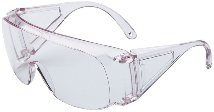 Howard Leight R01701 HL100 Shooting Sports Glasses Clear Frame|Clear Lens