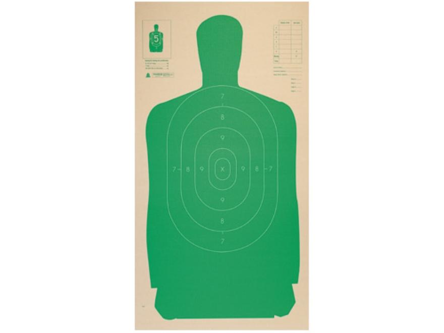 Champion Targets CB Silhouette Tgt 24X 45 Grn(25 Pk)