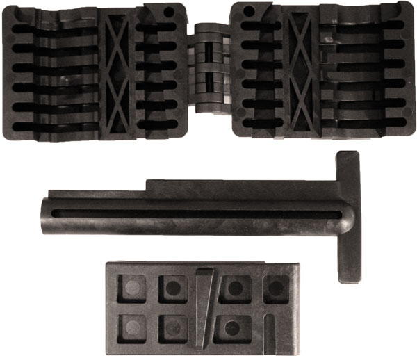 Pro Mag PM123A PM123A Upper |Lower Receiver Magazine Well Vise Black Set
