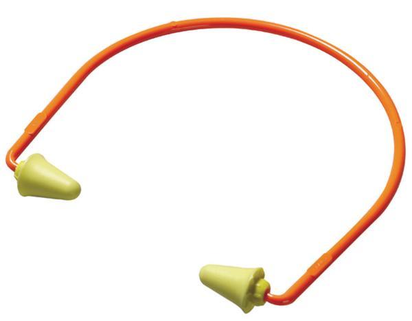 3M Peltor 97065 Banded Earplugs 28 dB Orange 1 Pair