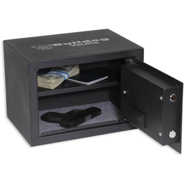 Bulldog Standard Digital Pistol Vault with Shelf