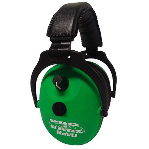 Pro Ears ER300NG ReVo Electronic Ear Muff 25 dB Neon Green