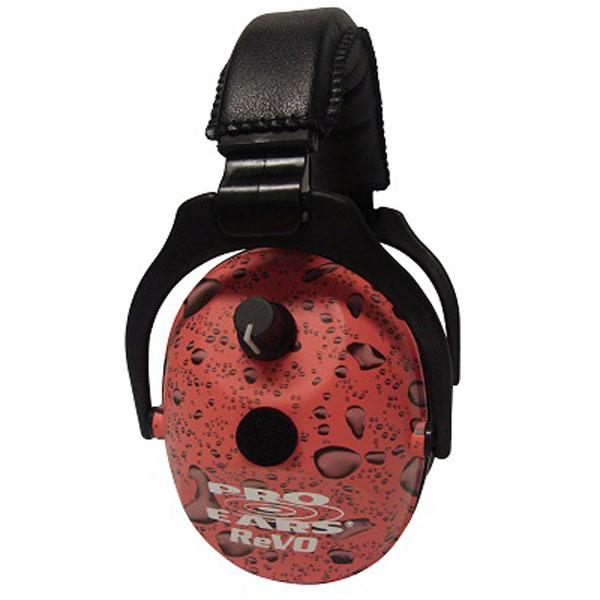 Pro Ears ER300PR ReVo Electronic Ear Muff E 25 dB Pink Rain