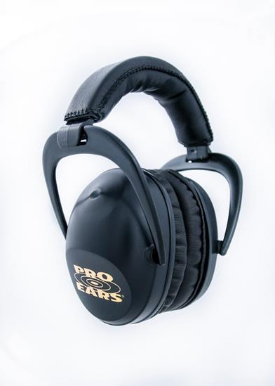 Pro Ears Ultra Sleek Ear ProtectionBlack