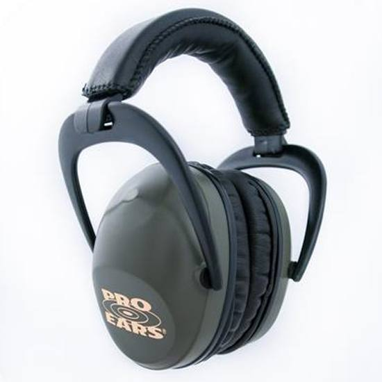 Pro Ears Ultra Sleek Ear ProtectionGreen