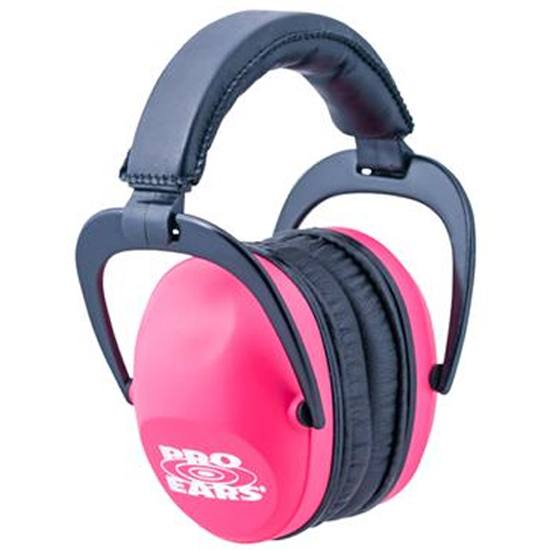 Pro Ears Ultra Sleek Ear ProtectionPink