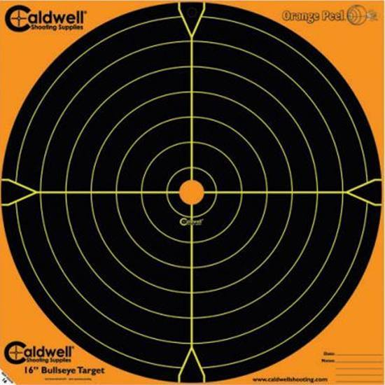 Caldwell 495-253 Orange Peel Targets Sight-In 16 5 Pack in.