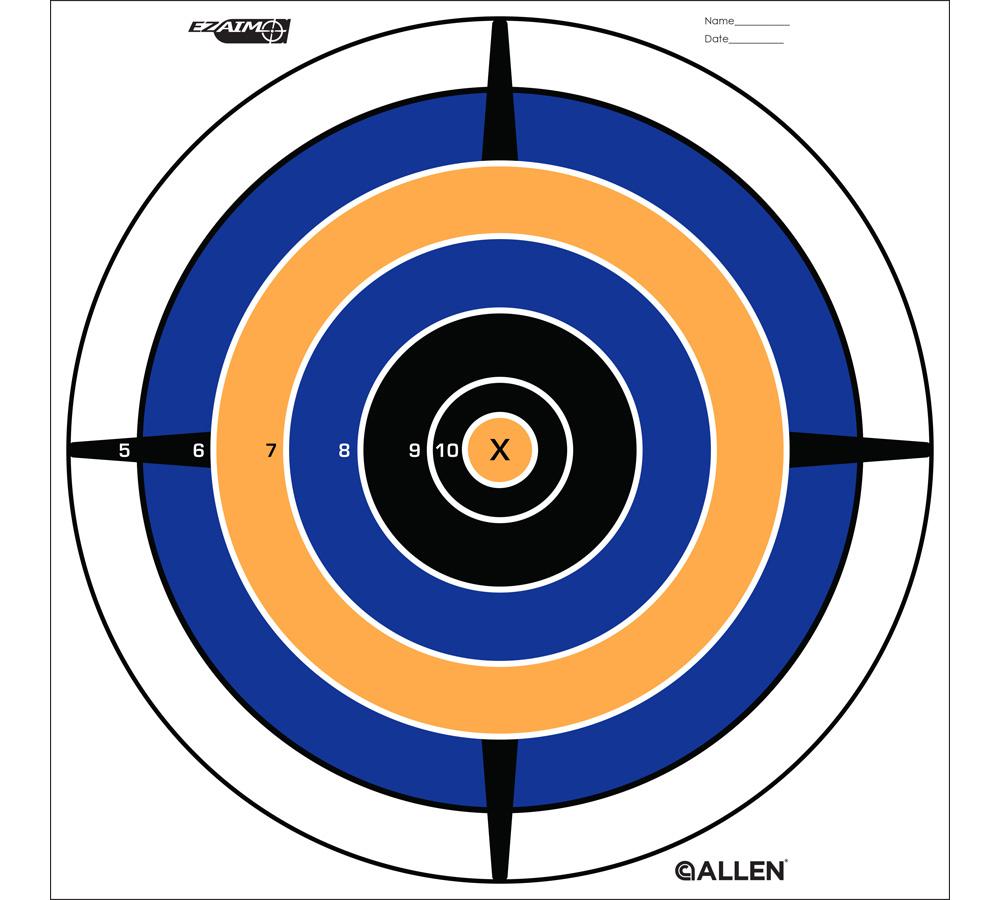 Allen 15205 EZ Aim Bullseye Target