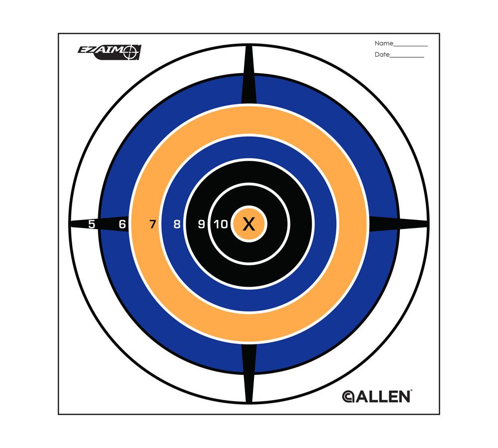 Allen 15206 EZ Aim Bullseye Target