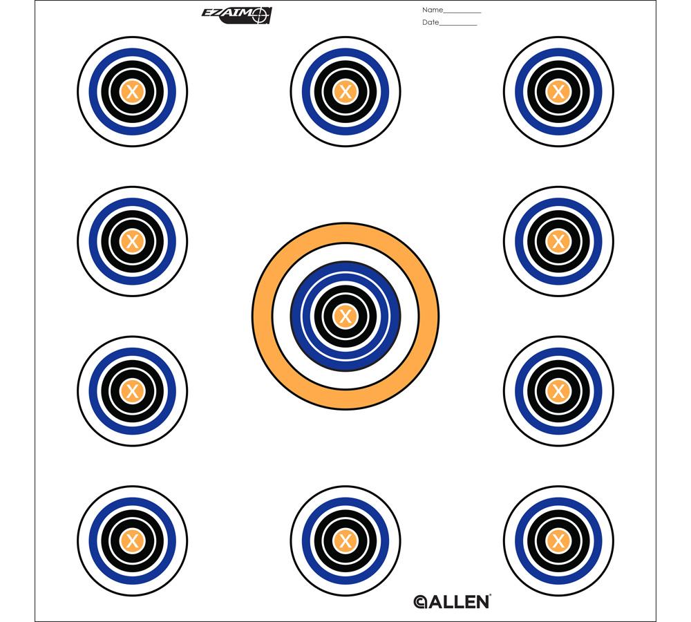 Allen 15208 EZ Aim 11 Spot Target