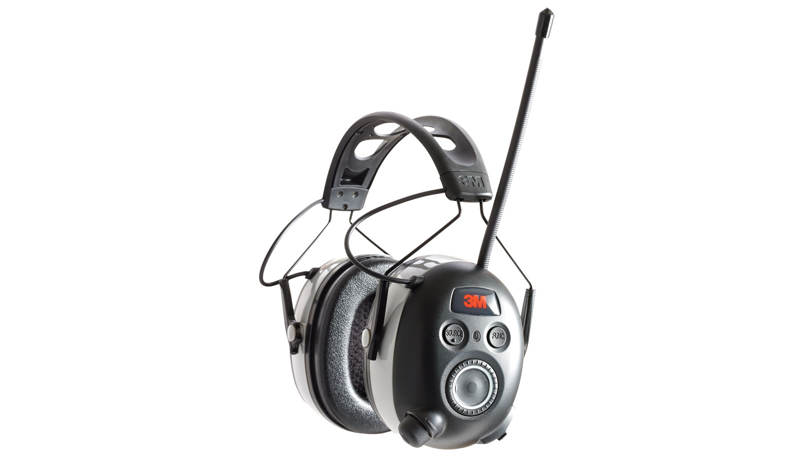 Peltor Work Tunes Wireless Hearing Protector with Bluetooth Technology, Black