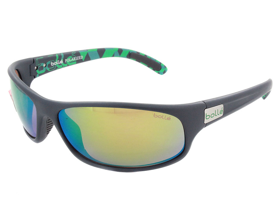 Bolle 12081 Anaconda Shooting|Sporting Glasses Matte Blue|Green