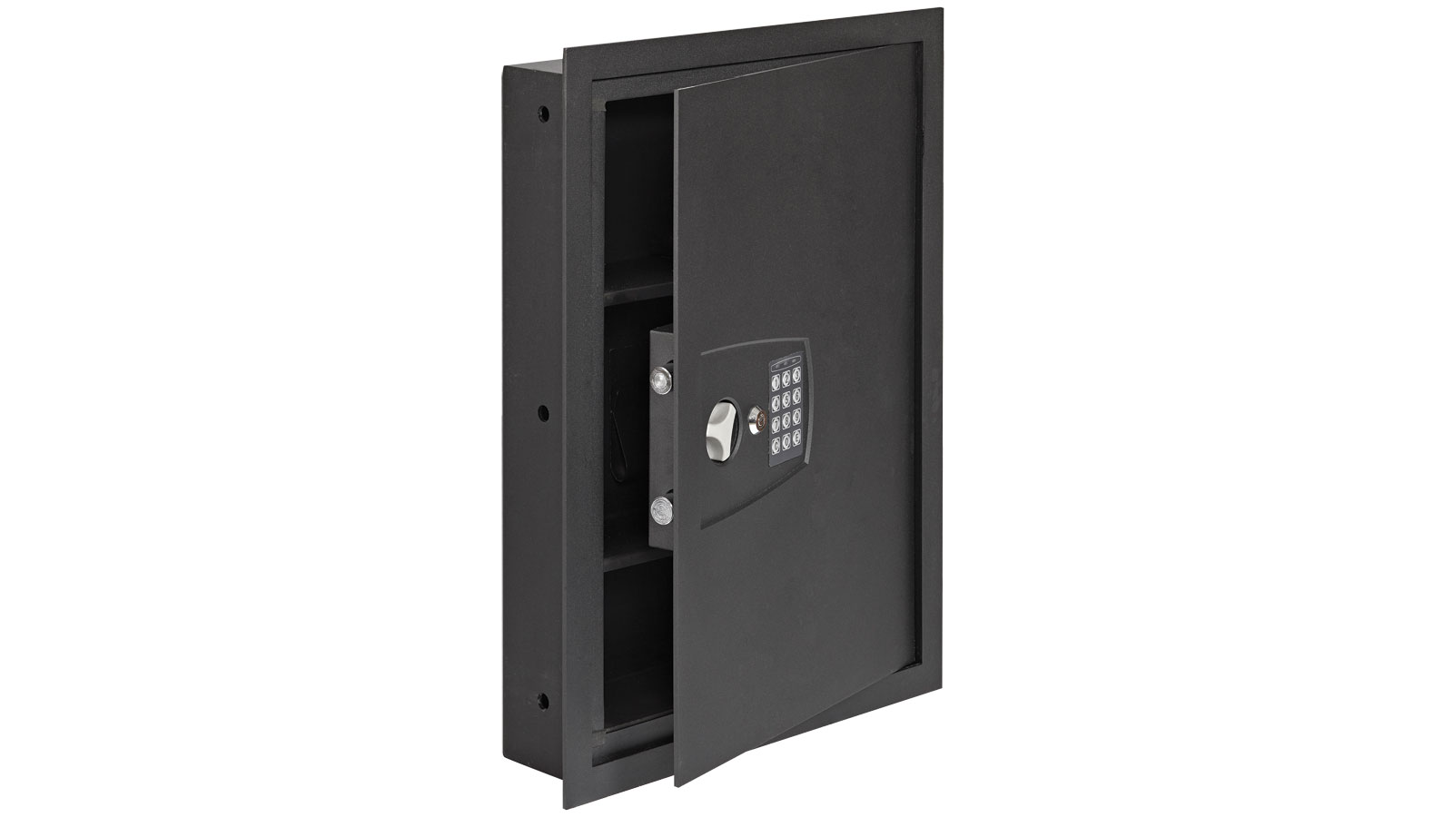Snap Safe Auxillary In Wall Safe Black