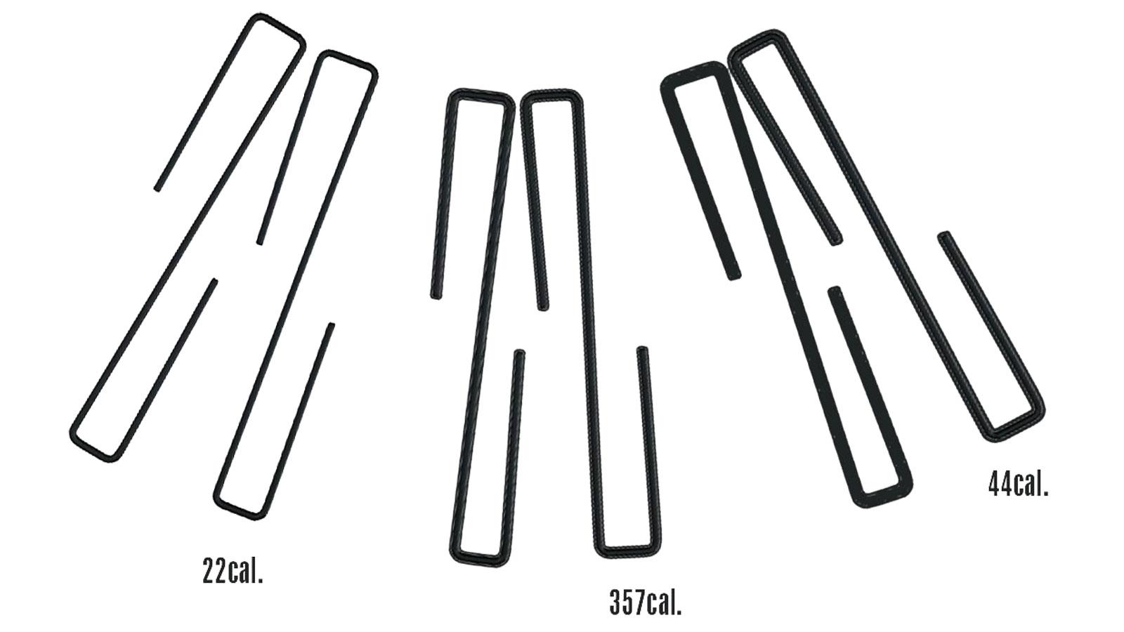 SnapSafe 75871 Handgun Hanger 44|9|38 and 22 Caliber Handguns Steel Black