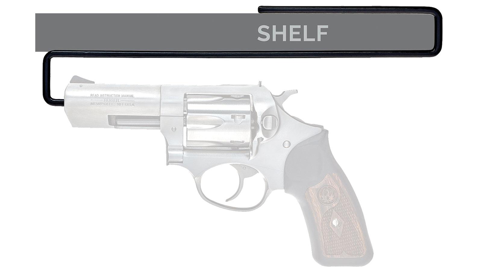 SnapSafe 75874 Handgun Hanger 44 Caliber Handgun Steel Black