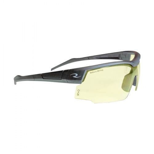 Radians SkyBow Shooting Glasses - Black Frame|Amber Lens