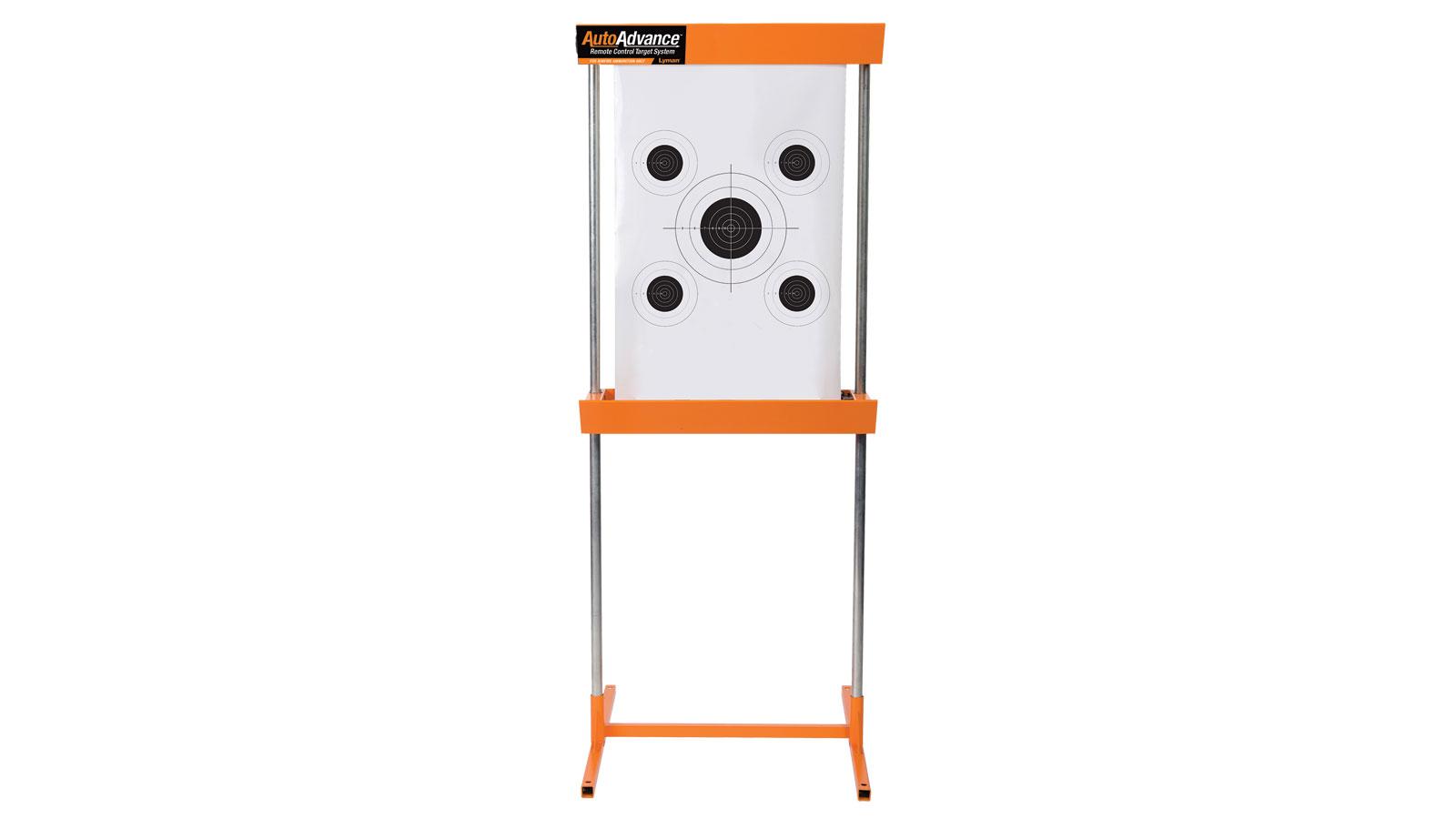 Lyman 4320051 Auto-Advance Target System 1 Metal Frame|5 Targets|1 Corrugated Plastic Board