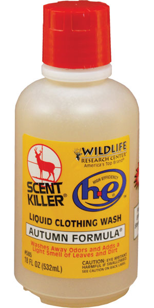 Wildlife Research 585 Scent Killer Clothing Wash Liquid Clothing Wash 16 oz