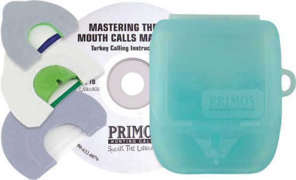 Primos Game Calls MountA-TURDEY 3 CallS + DVD
